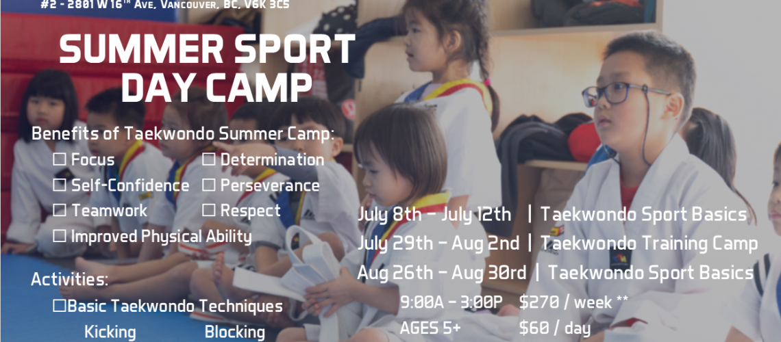2019 Summer Camp (Updated)