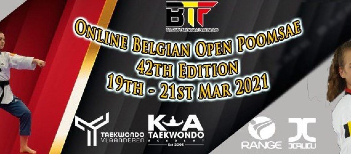 Online Belgian Open Poomsae 42th Edition V2